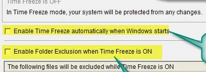 برنامج ToolWiz Time Freeze