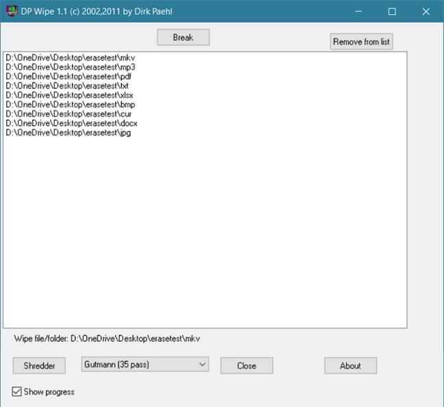 برنامج حذف الملفات نهائيا من الكمبيوتر